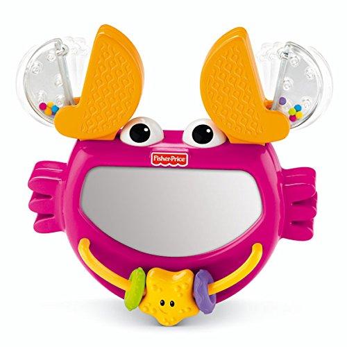 Granchietto specchietto clic-clac prima infanzia fisher price.