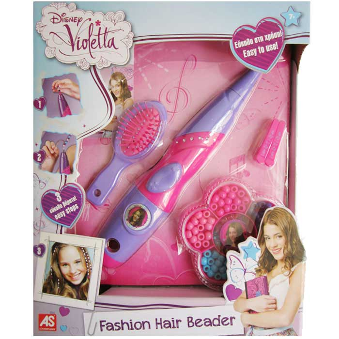 Kit per decorare i capelli e accessori per bambine disney personaggio violetta.
