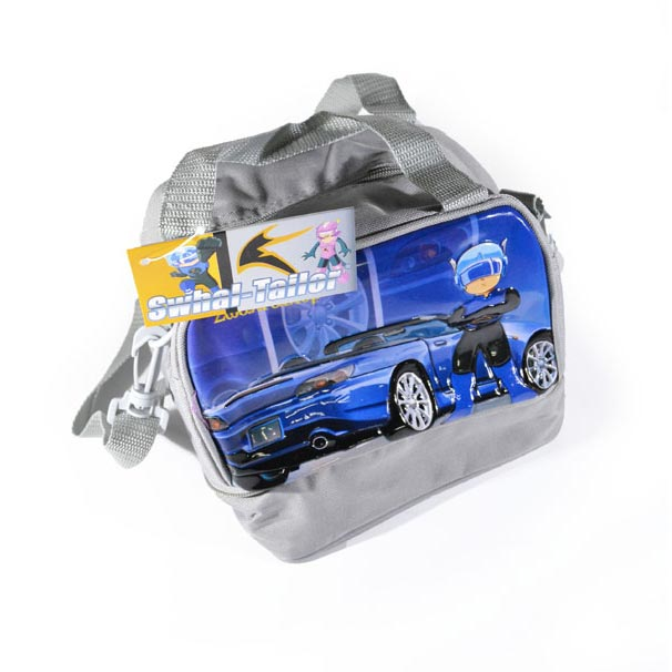 Cestino portapranzo lunch bag porta mangiare swhall tailor cars.