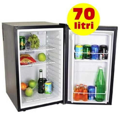 mini frigo da banco 70 litri 70w porta reversibile inox dcg mf1070 bakaji prezzi in offerta stock. Black Bedroom Furniture Sets. Home Design Ideas
