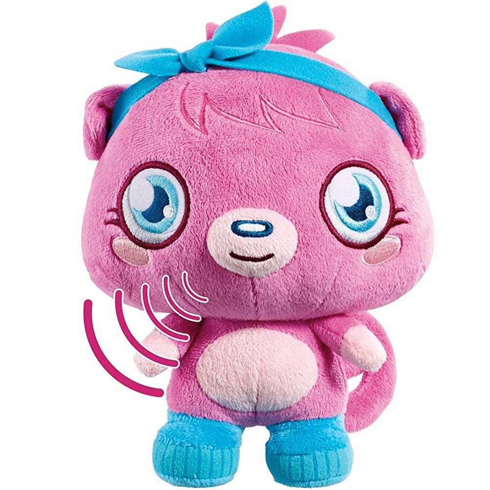 Moshi monsters talking poppet peluche parlante giochi bambini.