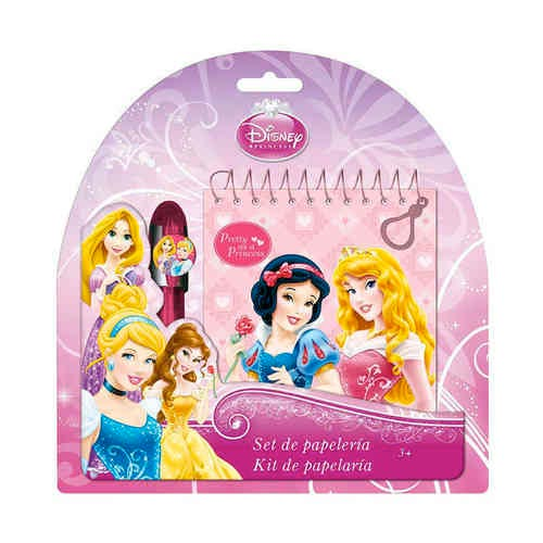Penna con Notebook Disney Princess Principesse.