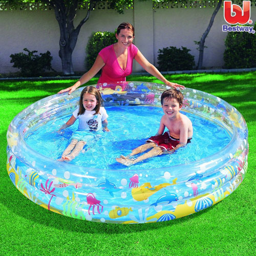Piscina gonfiabile winnie the pooh playground per bambini for Piscina gonfiabile online