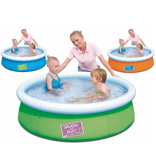 Piscina Gonfiabile Per Bambini Splash And Play 152 5 X 38
