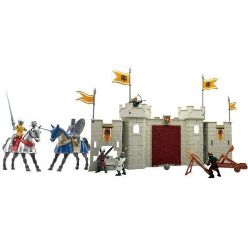 Play Set King Night Castle Castello con 5 Personaggi Inclusi e Accessori.