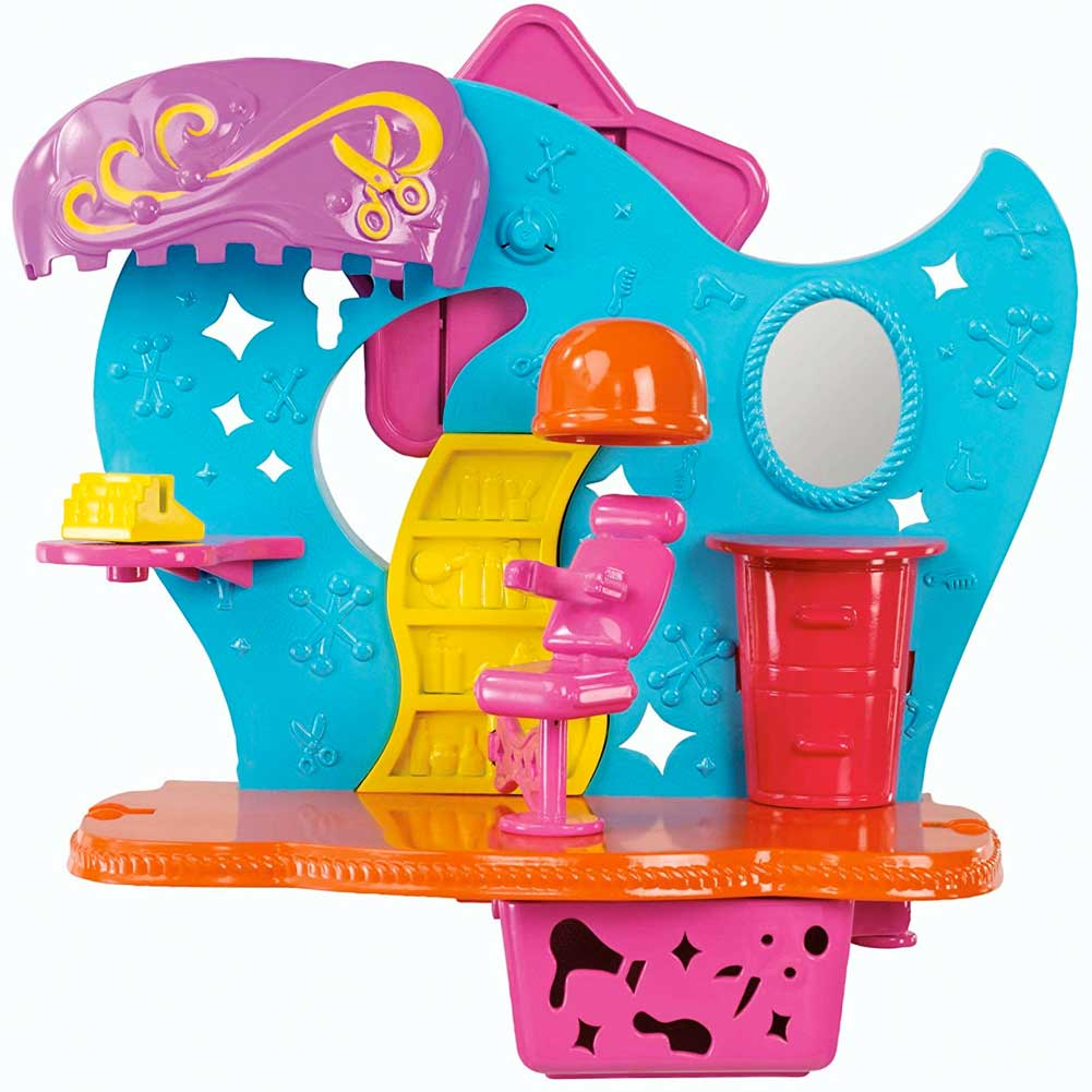 Polly Pocket Wall Party Playset Salone Bellezza Con Bambola e Accessori Mattel.