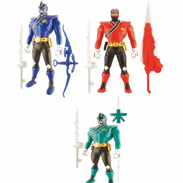 Power Rangers Samurai Modelli Assortiti Personaggi Action Figure Con Accessori.