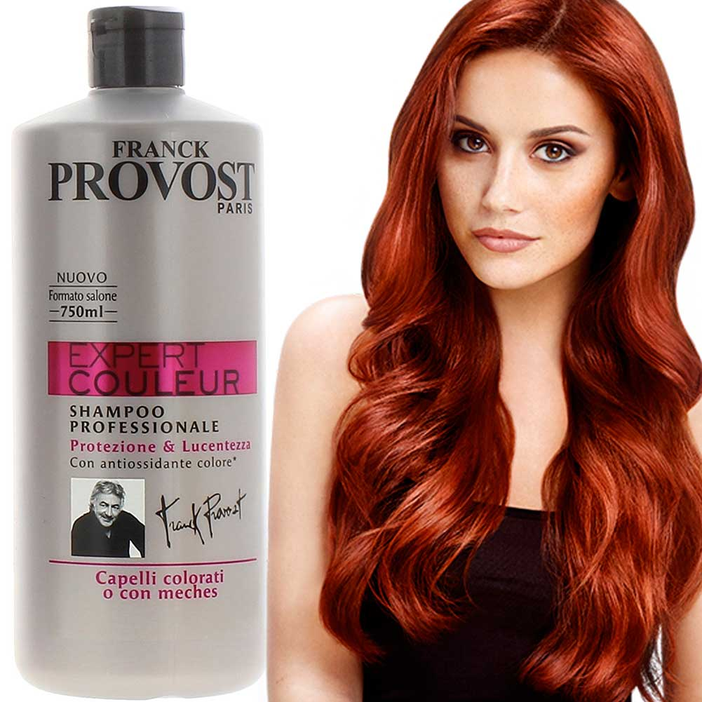 Provost Franck Expert Couleur Shampoo per Capelli Colorati Meches 750 ml.