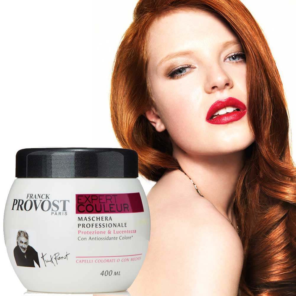 Provost franck expert couleur maschera per capelli colorati meches 400 ml.