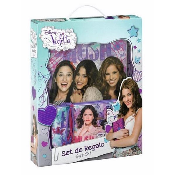 Set Regalo Accessori Scuola Disney Violetta.