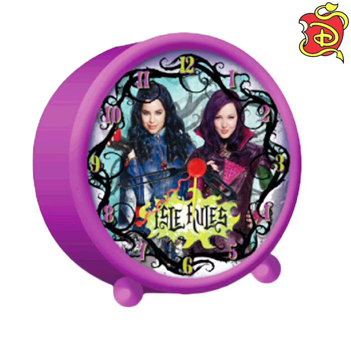 Sveglia analogica disney descendants evie e mal disney accessori casa.