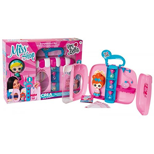 Very Bella Miss Shop Playset Crea Il Tuo Profumo con Bambola.